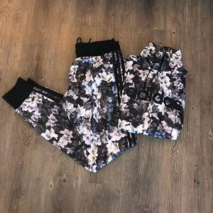 Adidas Womens Mono Flower Print Set